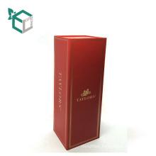 New Arrival Folding Bottle Paper Packaging Box