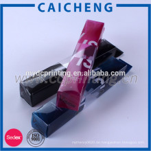 Rechteckverpackung Kunststoffbox klar PVC-Box mit Loch