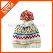 2016 Мода зима Дамы акриловые Исландии трикотажные шляпы кабель