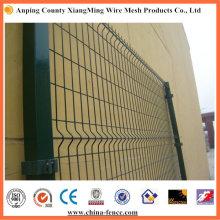 Zaunfenster Metallzaun Metallzaunplatten 3D-Sicherheitszaun