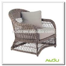 Audu Garden Resin Wicker Elegante silla clásica