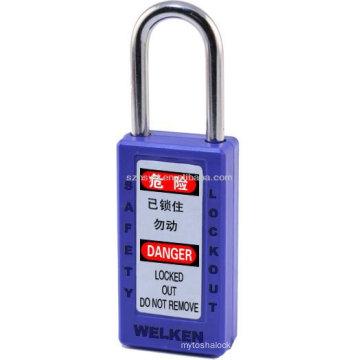 Certificação CE Aprovado Anti Impacto, Resistente, UV, Calor, Cadeado de Segurança de baixa temperatura