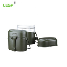 stainless steel army bullet box for food Lunch Box