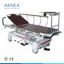 AG-HS005 deux civières d'hôpital de pompe hydraulique séparée pour l'ambulance