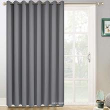 Rideaux de porte coulissante gris