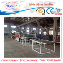 1220mm WPC Foam Board Manufacturing Machine with Embossing Roller