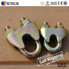 En13411-5 Galv Malleable DIN1142 Clip de câble métallique