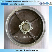 Sand Casting Stainless Steel/Alloy Steel Pump Cover Durco Pump Cover