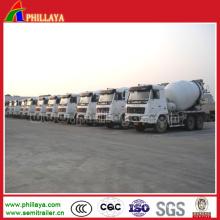 Concrete Mixer 3 Axle Tanker for Semi Trailer Truck