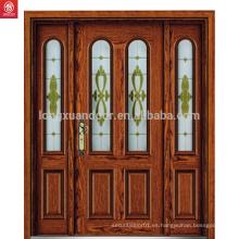 Puerta principal puerta de madera tallado diseño