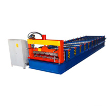 760 galvanized steel plate panel steel and iron roof / wall color steel tile roll forming machine