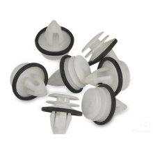 Producto de plástico moldeado a medida Tubo de plástico de tamaño pequeño