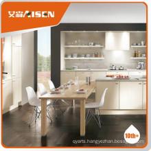 Good service wood grain vinyl kitchen cabinet