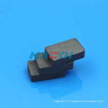 Aimants en forme de rectangle de ferrite en céramique à chaud en Chine