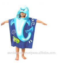promotional hooded beach towel