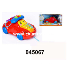 B/O Children Telphone Car Toy with Music and Light (045067)