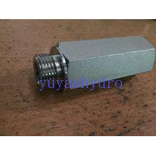 Raccord du connecteur hydraulique mâle droit