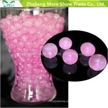 Pink Glitter Crystal Soil Water Beads Centros de mesa Decoraciones de la boda
