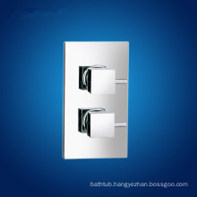 Dual handles thermostatic shower valve
