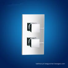 Dupla alça válvula de chuveiro termostática