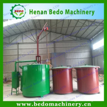 high efficiency continuous coal carbonization furnace for briquette charcoal with woodworking factory direct out