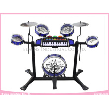 Multi-Function Musical Toys Keyboard Instrument with Drum