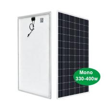 Panel solar mono 400W para planta de energía grande