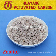 1.8-2.4mm natural zeolite filter/zeolite for water treatment