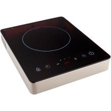 Solo control táctil del sensor de la hornilla del acero inoxidable 2600W de 2016 1800W, cocina de inducción de 120V ETL