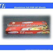 POP-UP foil sheets for food