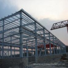 Matériau de panneau de mur de bâtiment de structure métallique (wsd2017)