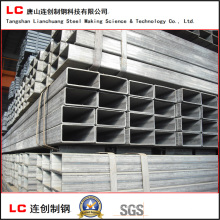 120mmx60mm Black Rectangular Hollow Section Pipe