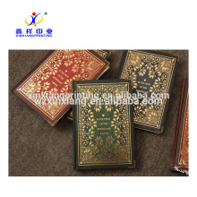 Retail Vintage Hardcover Lock Diary Notebook Manufacturer with Custom Design