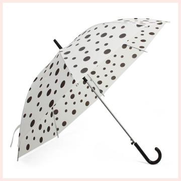 Автоматический Open DOT печати Белый прямой зонтик (BD-69)