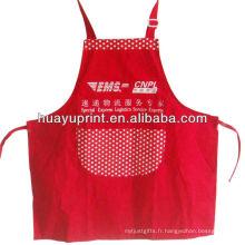 35% coton 65% polyester brodé en broderie kithchen babes tabliers aviron de promotion de cuisine écologique AT-1004