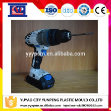 driver drill shell housing rubber overmolding with plastic injection mould