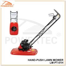 Powertec 2.5 / 4 / 5.5HP Gadanheira de gramado manual a gasolina (LM-PT -01H)