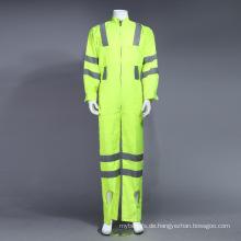 Poly Hi-Viz reflektierende Overall Kleidung mit Reflexstreifen (BLY1008)