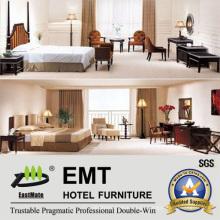 Dormitorio de madera del hotel del dormitorio del dormitorio fijado (EMT-A6003)