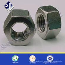 Écrou hexagonal haute résistance A2-70 Écrou hexagonal Écrou hexagonal en acier inoxydable