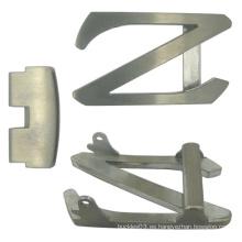 Hebilla de cinturón de metal personalizada en forma de Z