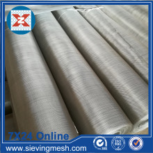 Treillis métallique en acier inoxydable à armure toile