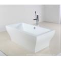 Bañera elegante en material acrílico