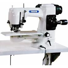 Máquina de costura de ponto cego de casaco de caxemira dupla face