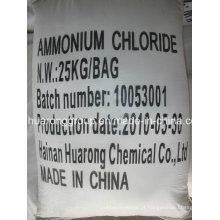 Cloreto de amônio 99.5%Min CAS n º: 12125-02-9