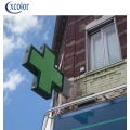 P8 New Design LED Cross Sign per Farmacia