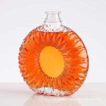 Transparent Glass Wine Bottle, Wine Dispenser, Wine Bottle, Carved Wine Bottle