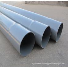 Línea de extrusión de tubería de drenaje y suministro de agua de PVC