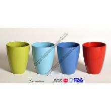 Decoration Ceramic Colorful Glazed Plant Pots Set