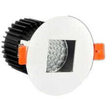 Round Shape Middle Square Recessed LED Lamp